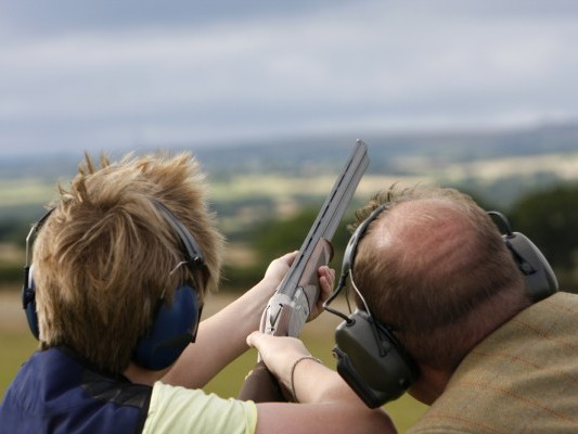 Clay Shooting Cork